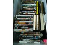 Dvds and books for sale