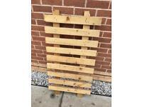 Picket fence panel