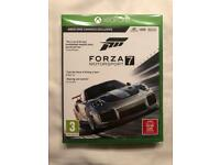 Forza Motorsport 7 unopened