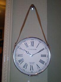 """Notre Dam"" Hanging Clock"