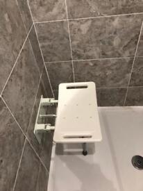 Good quality wall mounted foldable shower seat