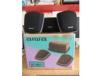 Aiwa SX-CR677 speakers