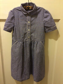 School dress (blue gingham)