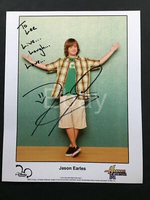 Hannah Montana Photos - Jason Earles Hannah Montana AUTHENTIC Autograph Signed Signature TV Photo A136