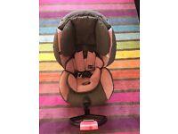 BeSafe Rear Facing Car Seat Pink BeSafe IZI Kid X1 £75 with hood