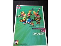 Bright Red Study Guide National 5 Spanish