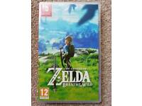 Used, Zelda Breath of the Wild for sale  Newcastle-under-Lyme, Staffordshire