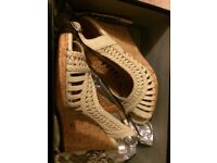 Dune wedge sandals size 6