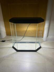 Fish tank (25 litre) & filter etc