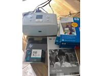 HP photosmart A516 printer with extras