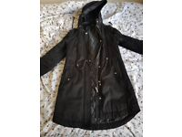 Quilted H&M Parka, Women's size 8