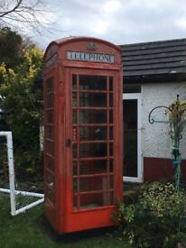 Fully working telephone connected to landline in the garden .Own a real piece of British History!