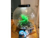 BiOrb 30 litre Fish Tank (with a few extras)