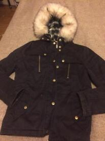Topshop Jacket Size 8 (8-10) Parka