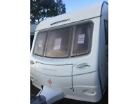 coachman laser 640 2008 4 berth with full awing