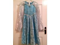 Elsa and Anna dresses size 7-8 years