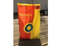 Free ready to use postcrete