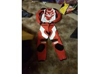 Ladies size 10 motorcycle 2 piece leathers