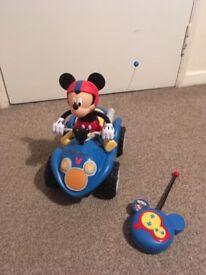 Remote control Mickey Mouse quad bike