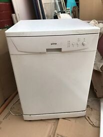 dishwasher, free standing