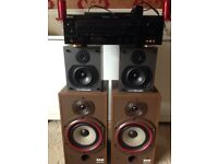 Sherwood Newcastle amp and speakers
