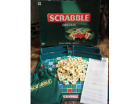 (Scrabble Original) word game. By Mattel 2003. Complete.