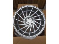 "Brand new 17"" WC6 Alloy wheels 5x112 staggered VW Audi Mercedes"