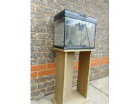 TROPICAL FISH TANK with STAND and many accessories