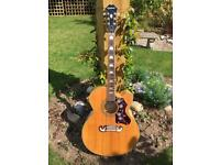 Epiphone EJ-200CE/N electric acoustic guitar