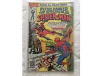 Spectacular Spiderman #1 1976 Marvel comic