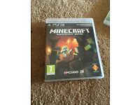 PS3 game minecraft