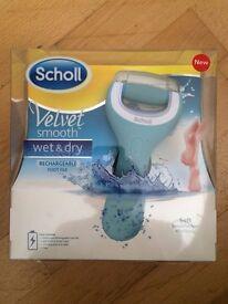 Scholl Velvet Smooth wet & dry - New