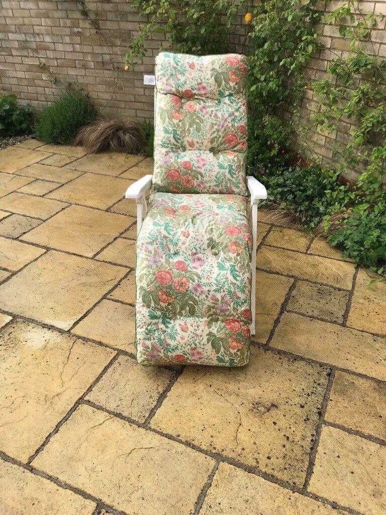 Amazing Garden Reclining Chair Bed In Stowmarket Suffolk Gumtree Creativecarmelina Interior Chair Design Creativecarmelinacom