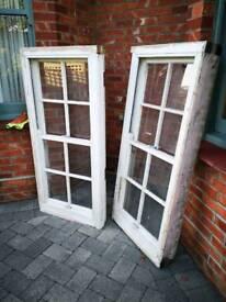 Reclaimed Wooden box sash windows