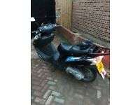Motorbike perfect completely not any damage 125cc just 7000 miles very good condition