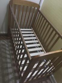 Baby bed (wooden)