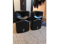 Yamaha portable PA system - Stagepas 400i - only 1 month old!