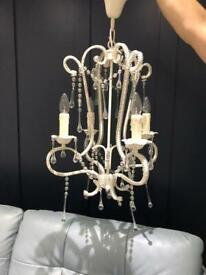 Beautiful cream chandelier