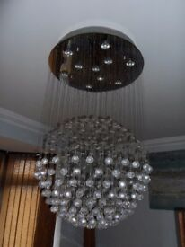 The Excelsior modern asfour crystal chandelier