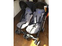 Chicco double pram or stroller for sale