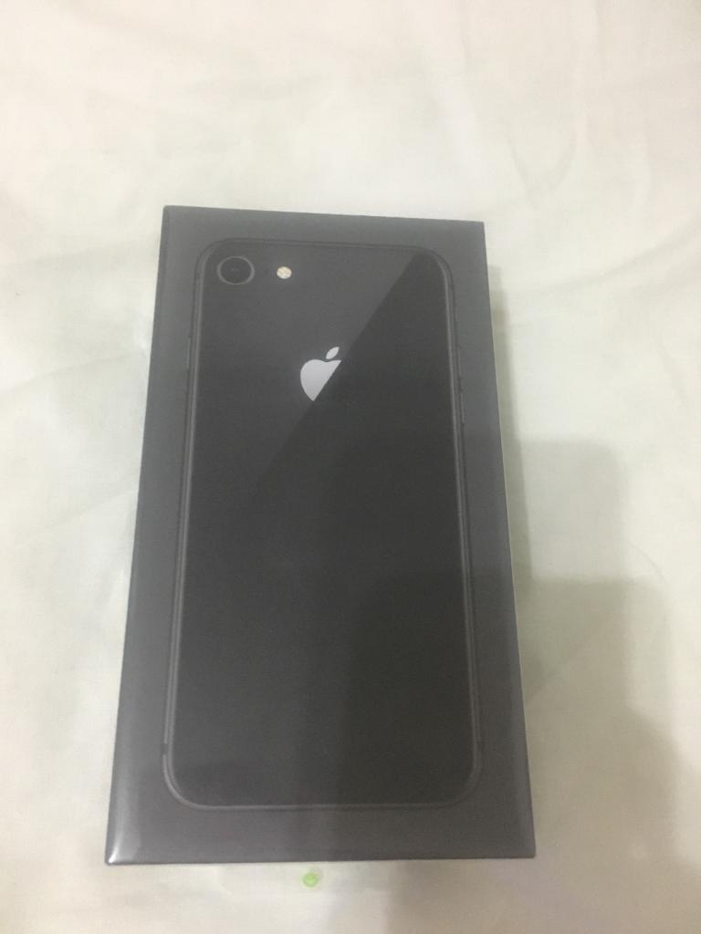 Black Iphone 8 64gb In Original Boxsealednever Been Open Xiaomi Redmi Note 4 64 Gbfull