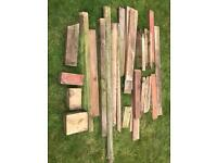 Free Mixed pile of wood
