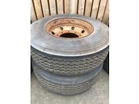 Tyres 2x385/65/22.5