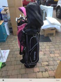 tall men's golf clubs like new