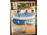 Brand new Jilong Prompt Set Inflatable Paddling Pool 8ft – Garden Outdoor