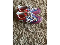 Warrior football boots size 10 kids/ toddler