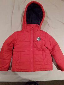 3x boys winter coats