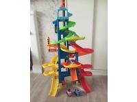 Fisher price little people city skyway garage