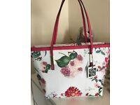 NEW Debenhams floral shopper handbag with tags