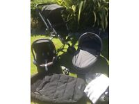 Quinny Buzz pushchair , Maxicosi car seat and carry cot